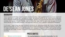 De'Sean Jones One Sheet